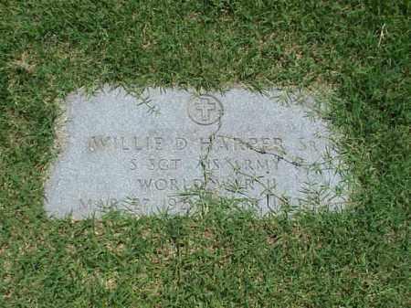HARPER, SR (VETERAN WWII), WILLIE D - Pulaski County, Arkansas   WILLIE D HARPER, SR (VETERAN WWII) - Arkansas Gravestone Photos