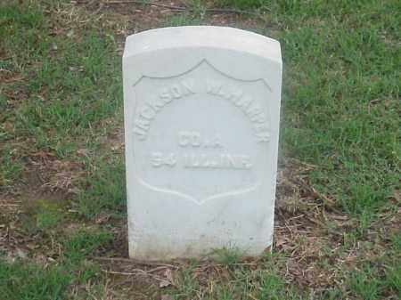 HARPER (VETERAN UNION), JACKSON W - Pulaski County, Arkansas | JACKSON W HARPER (VETERAN UNION) - Arkansas Gravestone Photos