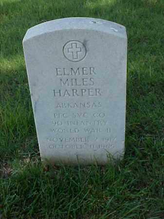 HARPER (VETERAN WWII), ELMER MILES - Pulaski County, Arkansas | ELMER MILES HARPER (VETERAN WWII) - Arkansas Gravestone Photos