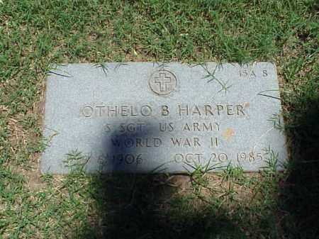 HARPER (VETERAN WWII), OTHELO B - Pulaski County, Arkansas | OTHELO B HARPER (VETERAN WWII) - Arkansas Gravestone Photos