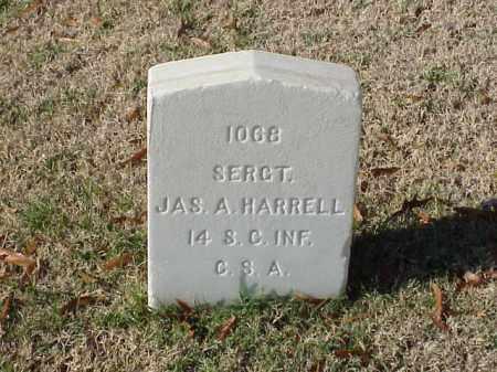 HARRELL  (VETERAN CSA), JAMES A - Pulaski County, Arkansas | JAMES A HARRELL  (VETERAN CSA) - Arkansas Gravestone Photos