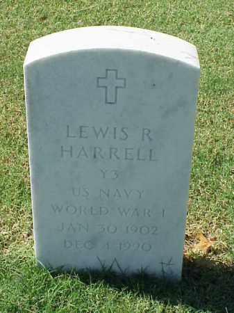 HARRELL  (VETERAN WWI), LEWIS R - Pulaski County, Arkansas | LEWIS R HARRELL  (VETERAN WWI) - Arkansas Gravestone Photos