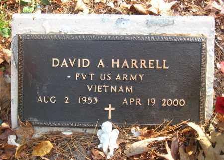HARRELL  (VETERAN VIET), DAVID A - Pulaski County, Arkansas | DAVID A HARRELL  (VETERAN VIET) - Arkansas Gravestone Photos