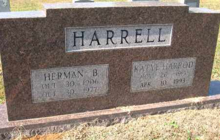 HARROD HARRELL, KATYE - Pulaski County, Arkansas | KATYE HARROD HARRELL - Arkansas Gravestone Photos