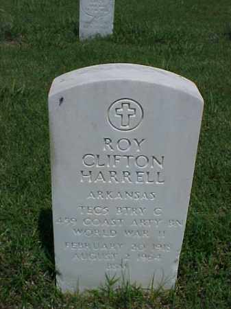 HARRELL (VETERAN WWII), ROY CLIFTON - Pulaski County, Arkansas | ROY CLIFTON HARRELL (VETERAN WWII) - Arkansas Gravestone Photos