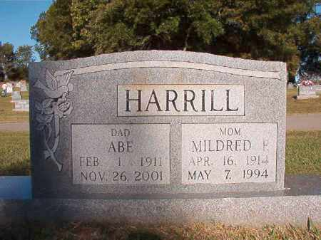 HARRILL, MILDRED F - Pulaski County, Arkansas | MILDRED F HARRILL - Arkansas Gravestone Photos
