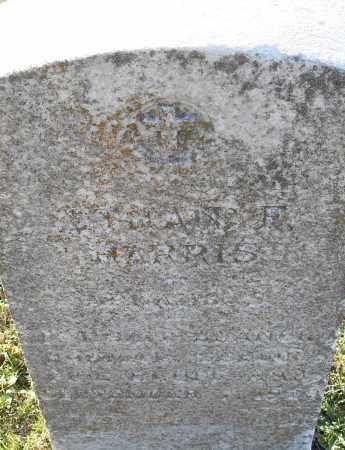 HARRIS, _  F - Pulaski County, Arkansas   _  F HARRIS - Arkansas Gravestone Photos