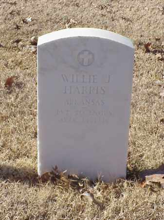 HARRIS  (VETERAN WWI), WILLIE J - Pulaski County, Arkansas | WILLIE J HARRIS  (VETERAN WWI) - Arkansas Gravestone Photos
