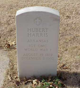 HARRIS  (VETERAN WWI), HUBERT - Pulaski County, Arkansas | HUBERT HARRIS  (VETERAN WWI) - Arkansas Gravestone Photos