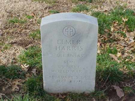 HARRIS  (VETERAN WWII), ELMER - Pulaski County, Arkansas | ELMER HARRIS  (VETERAN WWII) - Arkansas Gravestone Photos