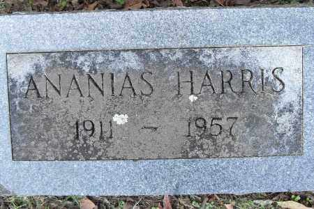 HARRIS, ANANIAS - Pulaski County, Arkansas | ANANIAS HARRIS - Arkansas Gravestone Photos