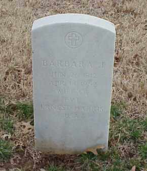 HARRIS, BARBARA J - Pulaski County, Arkansas | BARBARA J HARRIS - Arkansas Gravestone Photos