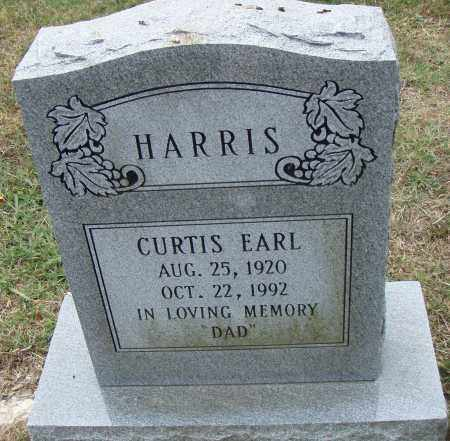 HARRIS, CURTIS EARL - Pulaski County, Arkansas | CURTIS EARL HARRIS - Arkansas Gravestone Photos