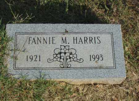 HARRIS, FANNIE M - Pulaski County, Arkansas | FANNIE M HARRIS - Arkansas Gravestone Photos