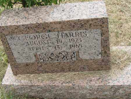 HARRIS, GEORGE - Pulaski County, Arkansas | GEORGE HARRIS - Arkansas Gravestone Photos