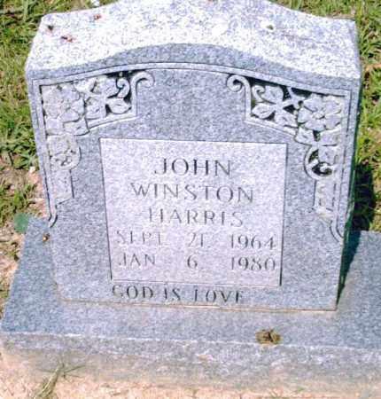 HARRIS, JOHN  WINSTON - Pulaski County, Arkansas | JOHN  WINSTON HARRIS - Arkansas Gravestone Photos