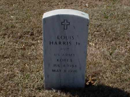 HARRIS, JR (VETERAN KOR), LOUIS - Pulaski County, Arkansas | LOUIS HARRIS, JR (VETERAN KOR) - Arkansas Gravestone Photos