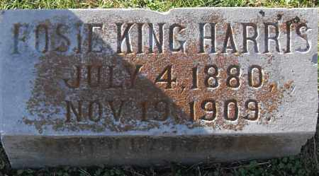 KING HARRIS, ROSIE - Pulaski County, Arkansas | ROSIE KING HARRIS - Arkansas Gravestone Photos