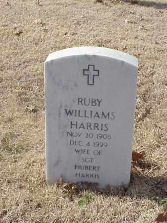 WILLIAMS HARRIS, RUBY - Pulaski County, Arkansas | RUBY WILLIAMS HARRIS - Arkansas Gravestone Photos
