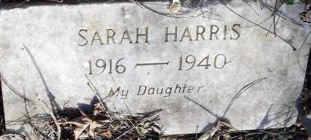 HARRIS, SARAH - Pulaski County, Arkansas | SARAH HARRIS - Arkansas Gravestone Photos