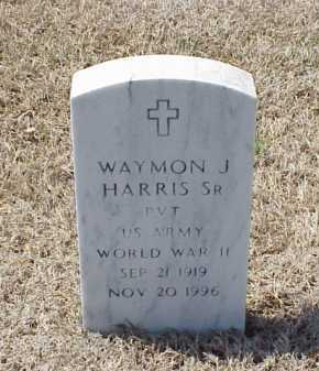 HARRIS, SR (VETERAN WWII), WAYMON J - Pulaski County, Arkansas | WAYMON J HARRIS, SR (VETERAN WWII) - Arkansas Gravestone Photos