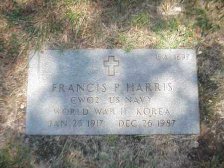 HARRIS (VETERAN 2 WARS), FRANCIS P - Pulaski County, Arkansas | FRANCIS P HARRIS (VETERAN 2 WARS) - Arkansas Gravestone Photos