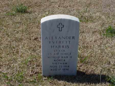 HARRIS (VETERAN 3 WARS), ALEXANDER EVERETT - Pulaski County, Arkansas | ALEXANDER EVERETT HARRIS (VETERAN 3 WARS) - Arkansas Gravestone Photos