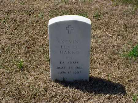 HARRIS (VETERAN), KEVIN LEVILL - Pulaski County, Arkansas | KEVIN LEVILL HARRIS (VETERAN) - Arkansas Gravestone Photos