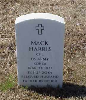 HARRIS (VETERAN KOR), MACK - Pulaski County, Arkansas | MACK HARRIS (VETERAN KOR) - Arkansas Gravestone Photos