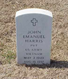 HARRIS (VETERAN VIET), JOHN EMANUEL - Pulaski County, Arkansas | JOHN EMANUEL HARRIS (VETERAN VIET) - Arkansas Gravestone Photos