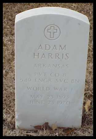HARRIS (VETERAN WWI), ADAM - Pulaski County, Arkansas | ADAM HARRIS (VETERAN WWI) - Arkansas Gravestone Photos