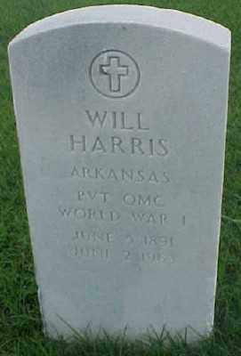 HARRIS (VETERAN WWI), WILL - Pulaski County, Arkansas | WILL HARRIS (VETERAN WWI) - Arkansas Gravestone Photos