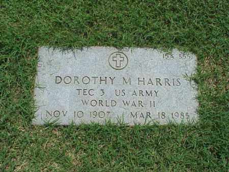 HARRIS (VETERAN WWII), DOROTHY M - Pulaski County, Arkansas | DOROTHY M HARRIS (VETERAN WWII) - Arkansas Gravestone Photos
