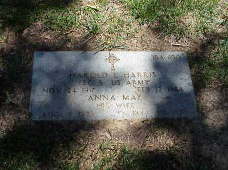 HARRIS, ANNA MAY - Pulaski County, Arkansas | ANNA MAY HARRIS - Arkansas Gravestone Photos