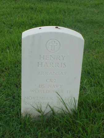 HARRIS (VETERAN WWII), HENRY - Pulaski County, Arkansas | HENRY HARRIS (VETERAN WWII) - Arkansas Gravestone Photos