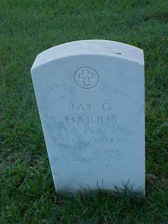 HARRIS (VETERAN WWII), JAY G - Pulaski County, Arkansas | JAY G HARRIS (VETERAN WWII) - Arkansas Gravestone Photos
