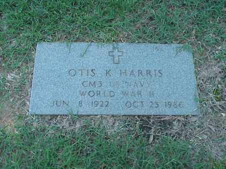 HARRIS (VETERAN WWII), OTIS K - Pulaski County, Arkansas | OTIS K HARRIS (VETERAN WWII) - Arkansas Gravestone Photos