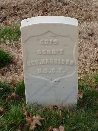 HARRISON  (VETERAN UNION), GEORGE - Pulaski County, Arkansas | GEORGE HARRISON  (VETERAN UNION) - Arkansas Gravestone Photos