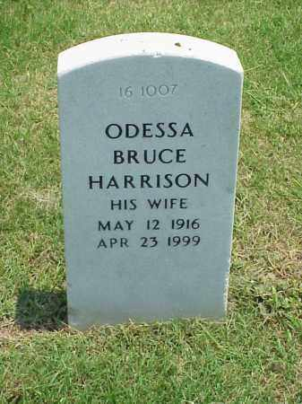 HARRISON, ODESSA BRUCE - Pulaski County, Arkansas | ODESSA BRUCE HARRISON - Arkansas Gravestone Photos