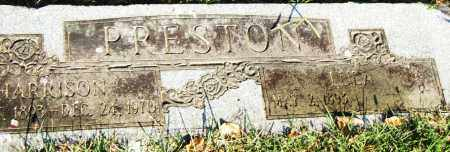 HARRISON, PRESTON - Pulaski County, Arkansas | PRESTON HARRISON - Arkansas Gravestone Photos