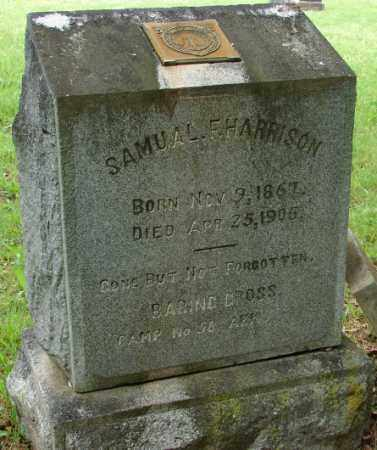 HARRISON, SAMUAL F. - Pulaski County, Arkansas | SAMUAL F. HARRISON - Arkansas Gravestone Photos