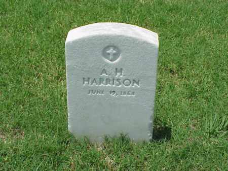 HARRISON (VETERAN), A H - Pulaski County, Arkansas | A H HARRISON (VETERAN) - Arkansas Gravestone Photos