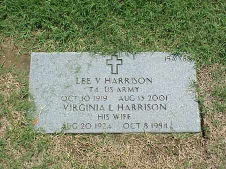 HARRISON, VIRGINIA L - Pulaski County, Arkansas | VIRGINIA L HARRISON - Arkansas Gravestone Photos