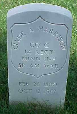HARRISON (VETERAN SAW), CLYDE A - Pulaski County, Arkansas | CLYDE A HARRISON (VETERAN SAW) - Arkansas Gravestone Photos