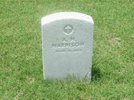 HARRISON (VETERAN UNION), A H - Pulaski County, Arkansas | A H HARRISON (VETERAN UNION) - Arkansas Gravestone Photos