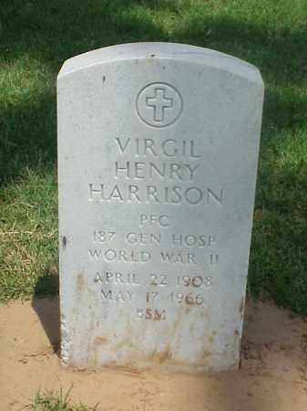 HARRISON (VETERAN WWII), VIRGIL HENRY - Pulaski County, Arkansas | VIRGIL HENRY HARRISON (VETERAN WWII) - Arkansas Gravestone Photos
