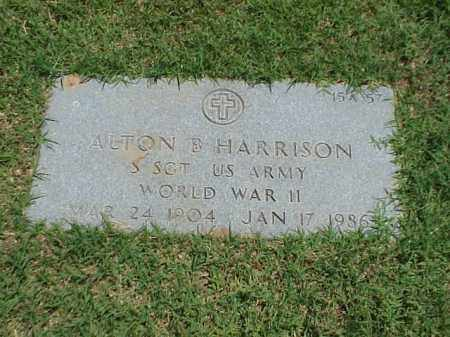 HARRISON (VETERAN WWII), ALTON B - Pulaski County, Arkansas | ALTON B HARRISON (VETERAN WWII) - Arkansas Gravestone Photos