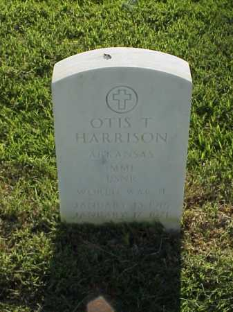 HARRISON (VETERAN WWII), OTIS T - Pulaski County, Arkansas   OTIS T HARRISON (VETERAN WWII) - Arkansas Gravestone Photos