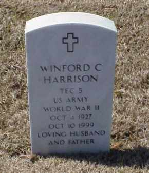 HARRISON (VETERAN WWII), WINFORD C - Pulaski County, Arkansas | WINFORD C HARRISON (VETERAN WWII) - Arkansas Gravestone Photos