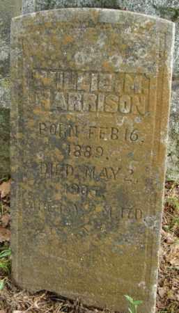 HARRISON, WILLIE M. - Pulaski County, Arkansas | WILLIE M. HARRISON - Arkansas Gravestone Photos